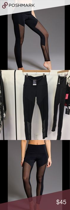 Onzie Fierce Legging - Black Little Stripe Combo PRODUCT DESCRIPTION Fierce. That is what you are! Featuring our signature slimming lines, the Fierce Legging will shape your legs and booty! High rise waist covers the hip area and lands just below the belly button. NEW WITH TAGS. PRICES ARE FIRM. Onzie Pants Leggings