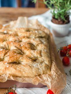 Täydellinen Focaccia | Annin Uunissa Savory Pastry, Savoury Baking, Most Delicious Recipe, Spanakopita, No Bake Desserts, Vegan Recipes, Appetizers, Yummy Food, Snacks