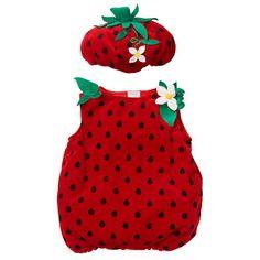 koala kids girls strawberry costume baby evelyn louise pinterest strawberry costume costumes and baby costumes - Strawberry Halloween Costume Baby