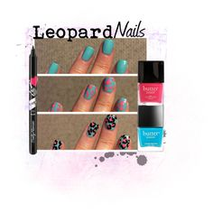 Leopard Nails How-To