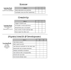 page 3 developmental checklist