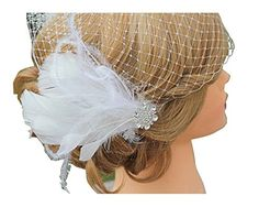 Blank K Women Cocktail Hair Clip Party Wedding Fascinator