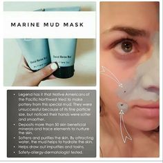 This Marine mask is amazing after you're almost empty put a little bit of water in it swirling around jumping in the bathtub full of water and their you have a full body detox detox your armpits your feet it's an absolute amazing product so many uses and $0.25 of every Epoch products sold goes to her Force for good foundation to Howies feed and educate children overseas become a Force for good ambassador Home Spa Treatments, Skin Treatments, Marine Mud Mask, Detox Your Armpits, Glacial Marine Mud, Full Body Detox, Nu Skin, Best Foundation, Healthy Skin Care