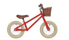 Bobbin Moonbug Balance Bike in red