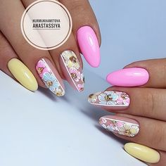 "Obtain fantastic tips on ""top nail art designs"". They are actually accessible for you on our internet site. Nail Designs Spring, Nail Art Designs, Spring Nails, Summer Nails, Gel Nail Art, Acrylic Nails, Nail Nail, Cute Nails, Pretty Nails"