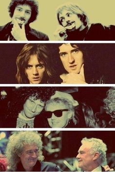 Brian May and Roger Taylor. I love their friendship! ❤