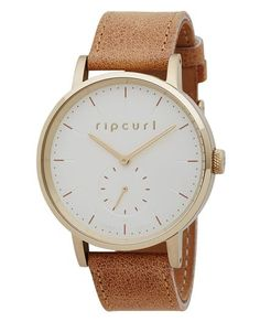 CIRCA WATCH LEATHER GOLD   RIP CURL