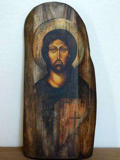 Catholic Art, Religious Art, Distortion Art, Jesus Face, Byzantine Icons, Art Icon, Orthodox Icons, Angel Art, Sacred Art