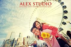 ALEX STUDIO PHOTOGRAPHY AND CINEMATOGRAPHY Maternity, Newborn, Head shot, Fashion portfolio Destination Wedding- Worldwide Travel Please contact us at 425.883.6800 Engagement Photoshoot Session, Chinese Couple Portraits, shot at the Seattle Wheel