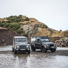Land Rover Defender 90 Td4 TWISTED ICON. Two entirely different looks, the same exceptional handcrafted quality. Love both.