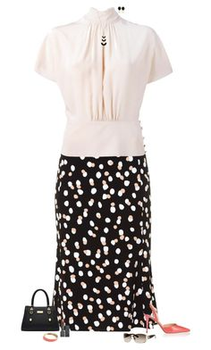 """""""Polka dots"""" by julietajj on Polyvore featuring Altuzarra, RED Valentino, Jimmy Choo, Kate Spade, Kenneth Jay Lane, Burberry, Gucci and J.Crew"""