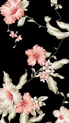 Dark floral ★ Find more Vintage wallpapers for your #iPhone + #Android @prettywallpaper