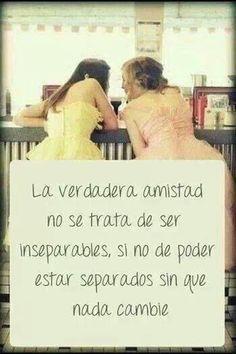 la verdadera amistad  #frases