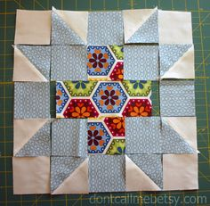 Don't Call Me Betsy: Star Crossed Block Tutorial