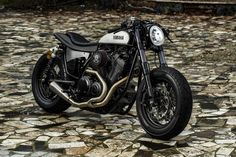 "Yamaha Yard Built XV950 ""Speed Iron"" by Moto di Ferro ©DR"