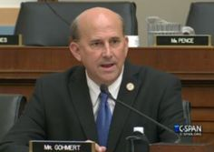 """""""It's OK to burn a Bible, that's OK,"""" Gohmert said, mocking the current administration. """"OK to burn a flag, OK, that's all right,"""" he continued. """"But just, you know, for heaven's sake don't say anything that might offend someone of the Islamic religion."""""""