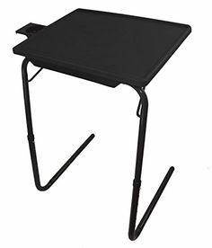 Portable & Foldable Comfortable Tv Tray Table (Black) http://www.furnituressale.com/portable-foldable-comfortable-tv-tray-table-black/