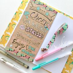 catching up on my June #listersgottalist #listersgottalistchallenge and this entry is 100% inspired by the very lovely and talented Vanessa of @petiteandco  Check out her sweet, whimsical lists! I love how she focuses on typography and tiny detailed doodles with pastel gel pens on craft paper! So amazing! I had to try her style in my June insert! #midori #travelersnotebook #fauxdori #dori #mtn #papercrafting #artjournal #artjournaljunkie #washi #washitape #washiaddict #plannergirl #listing
