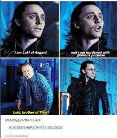 Aww, poor Loki xD