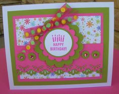 B-day Scallops by calmag - Cards and Paper Crafts at Splitcoaststampers