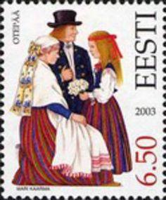 Issued in 2003, Estonia - Otepää