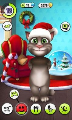 My Talking Tom is Casual game and developed by Talking Buddy, Talking Tom Cat, Gato Angel, Tom Games, Android I, Virtual Pet, Friends Series, Game Start, My Tom