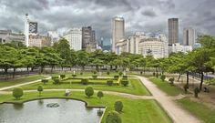 Praça Paris( Downtown Rio de Janeiro )