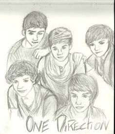 right, well I suppose you could call this a drawing commission, a girl in school asked me to draw one direction so here is my attempt. one direction fail One Direction Drawings, Drawing Commissions, Harry Styles, Fails, First Love, Deviantart, Live, Boys, Inspiration