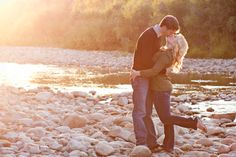 We have an engagement picture similar to this, I'd love to re-create it and add Brinley into it somehow.