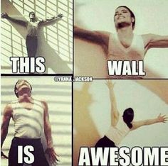 I never wanted to be a wall so badly before! :0