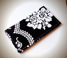 Checkbook Cover by cjaeger on Etsy