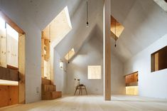 Ant-house by mA-style Architects--- do many ideas for this fantastic space!