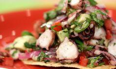 Disfruta de unas deliciosas tostadas de pulpo este viernes! Crujientes, ricas y con mucho mucho sabor! Enjoy these delicious octopus toasts today! Crunchy, flavorful and delicious!