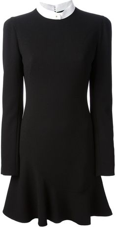 Wool Dress - Lyst ALEXANDER MCQUEEN
