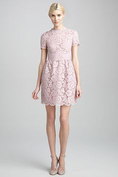 Valentino Lace Dress Oh, You Fancy? 16 Lace Dresses To Get You There #refinery29