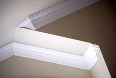 vaulted crown moulding, crown installation - Spaces - San Diego - TFLarkin, Inc Wood Ceilings, Ceiling Beams, Ceiling Crown Molding, Moulding, Crown Molding Installation, Interior Design Photography, Exposed Beams, Wood Beams, Architecture Details