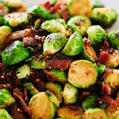 brussels with bourbon bacon and mustard | Garden and Gun