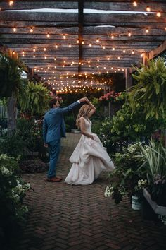 The Market at Grelen is a Large out door venue perfect for an outdoorsy couple!