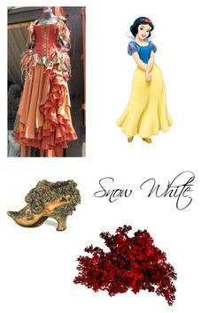 """""""Snow White's Maiden Dress"""" by christiana-samuel on Polyvore featuring Gunne Sax By Jessica McClintock"""