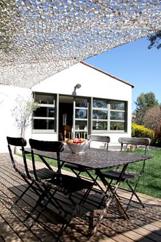1000 id es sur le th me toile pour pergola sur pinterest for Filet camouflage terrasse