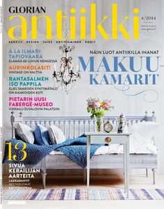 Magazine Cover 4 2014 A Gustavian Sofa Bed From Stockholm As An Example Of