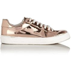 Miss Selfridge EVELYN Lace Up Trainers ($26) ❤ liked on Polyvore featuring shoes, sneakers, nude, nude shoes, laced sneakers, lacing sneakers, polyurethane shoes and lace up shoes