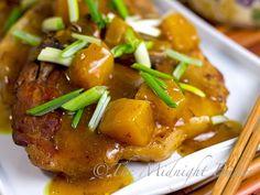 Slow Cooker Calypso Pork Chops #SlowCooker #CrockPot #PorkChopRecipes #CrockpotPorkChopRecipes