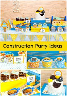 Awesome Construction Party Ideas featured on @Kristin | Paige Simple Studio