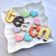 Back to school cookie set for that special teacher!