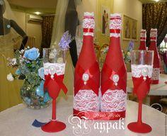 Купить Свадьба в красных тонах - ярко-красный, красный, свадьба, свадьба 2015, свадебные аксессуары
