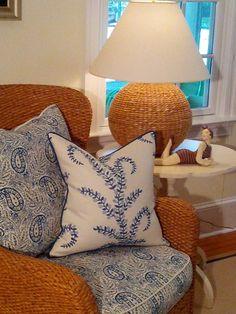 -Prasana Pillow- Coastal Pillows -Beach Pillows