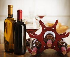 Unique Wooden Wine Rack