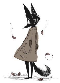 Hannah Stephens — I am not a furry. I swears it! my art Cartoon Art Styles, Cute Art Styles, Cute Drawings, Animal Drawings, Furry Drawing, Wow Art, Illustrations, Illustration Art, Pretty Art