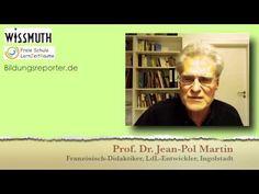Interview mit Jean-Pol Martin über glückbringende Strukturen in Schule und Hochschule